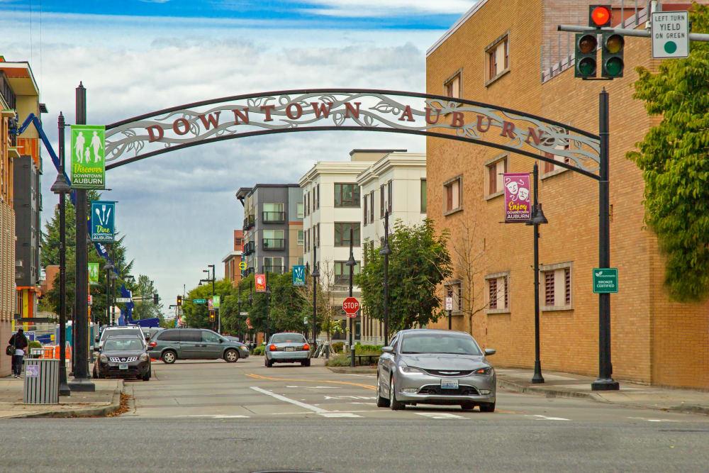 Downtown Auburn, Washington near The Verge