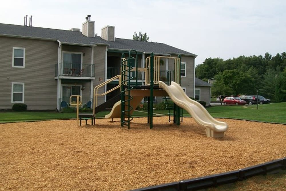 Large playground at The Meadows at Elk Creek in Elkton, Maryland