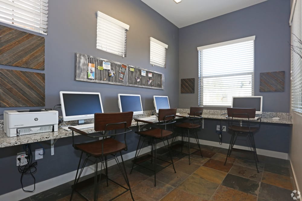 Business center at Mountain Trail in Flagstaff, Arizona