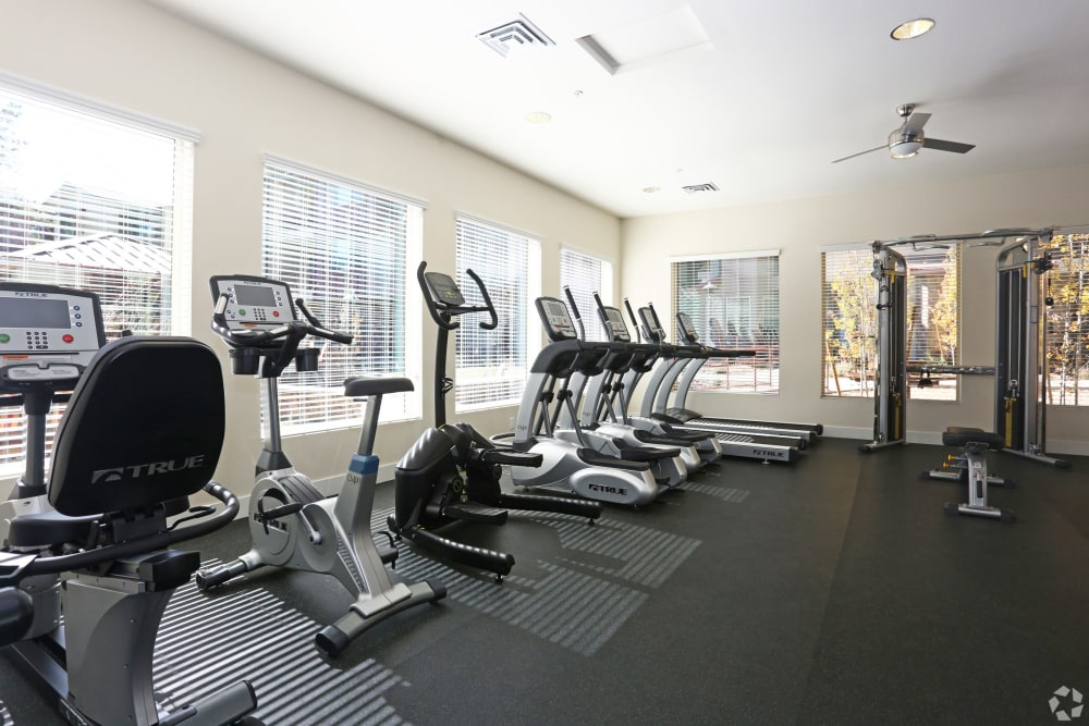 Resident fitness center at Mountain Trail in Flagstaff, Arizona