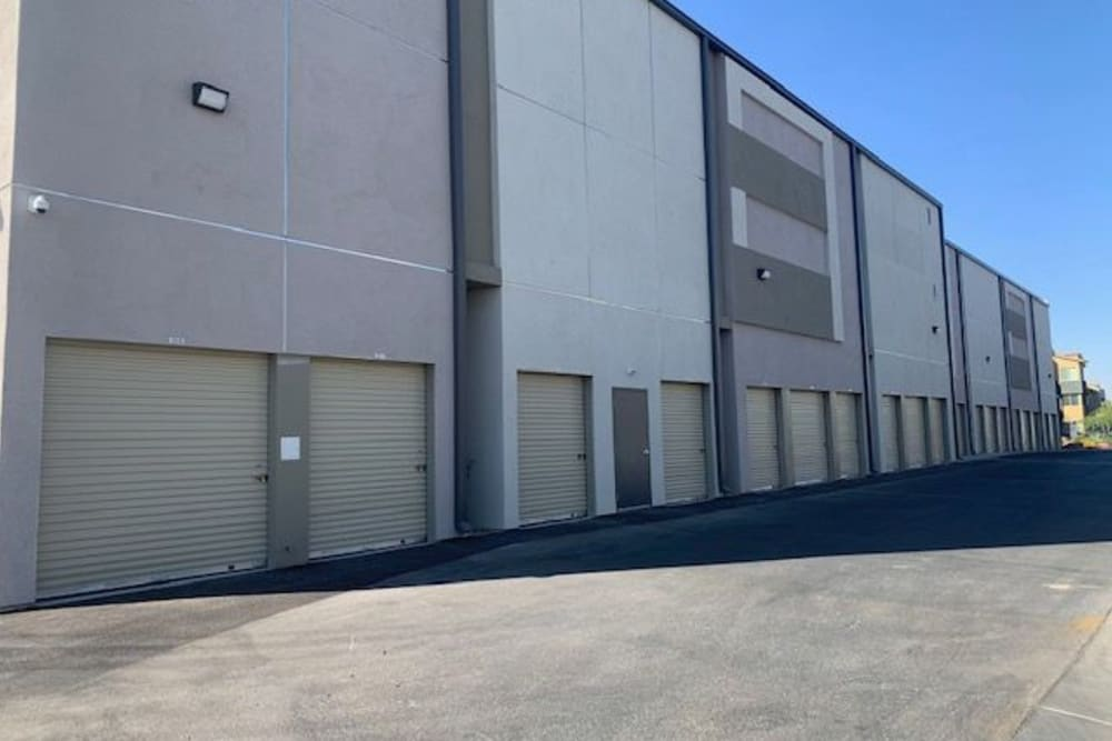 Drive up storage of StorageOne Blue Diamond & Buffalo in Las Vegas, Nevada