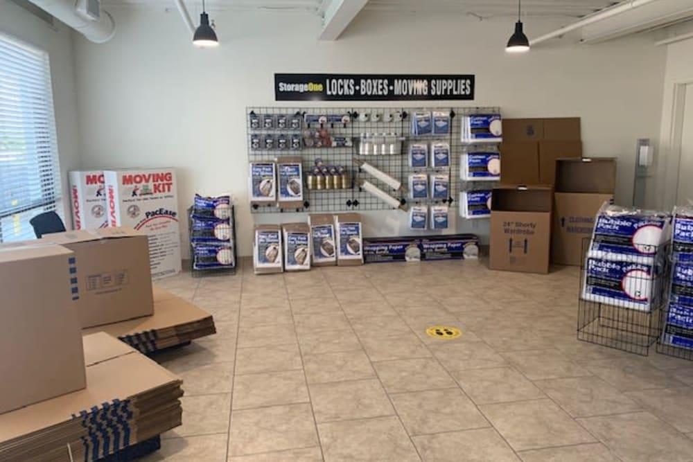 Packing supplies of StorageOne Blue Diamond & Buffalo in Las Vegas, Nevada
