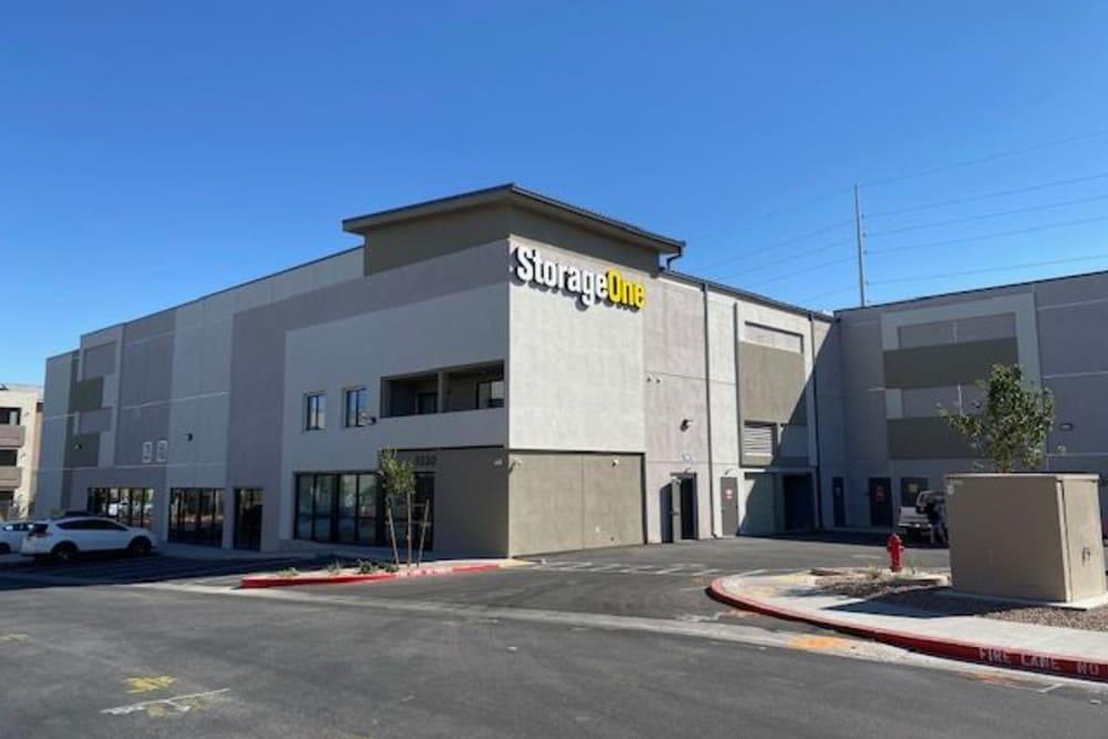 Exterior view of StorageOne Blue Diamond & Buffalo in Las Vegas, Nevada