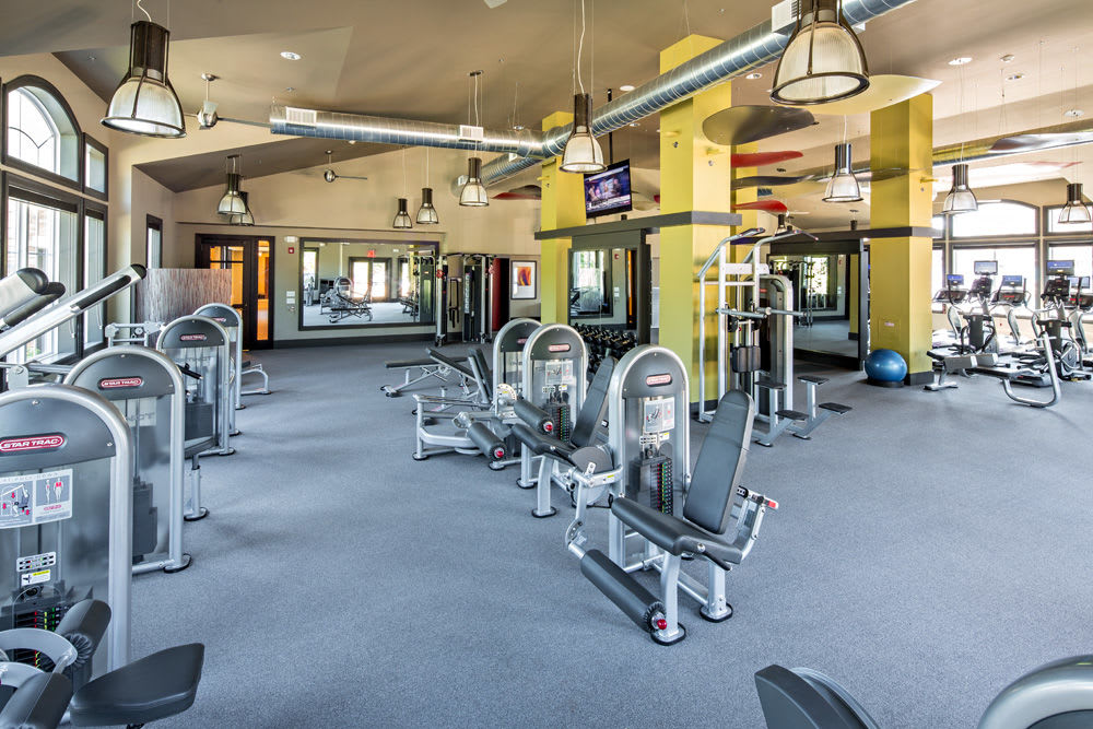 Fitness center at The Grove Somerset in Somerset, New Jersey