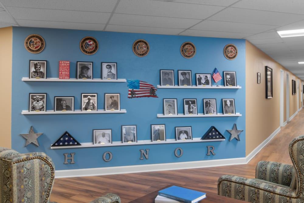 veteran wall
