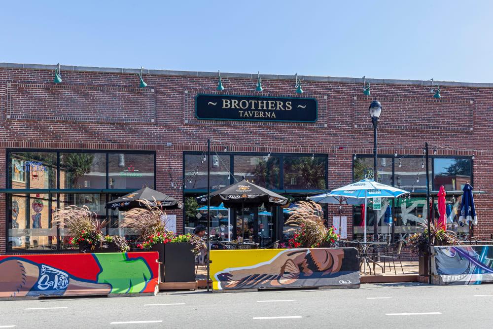 Great food and shops near Sofi at Salem Station in Salem, Massachusetts