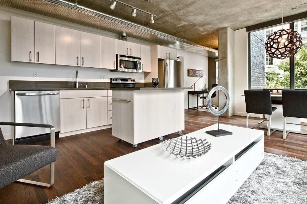 High end finishes at The Nolo in Seattle, Washington