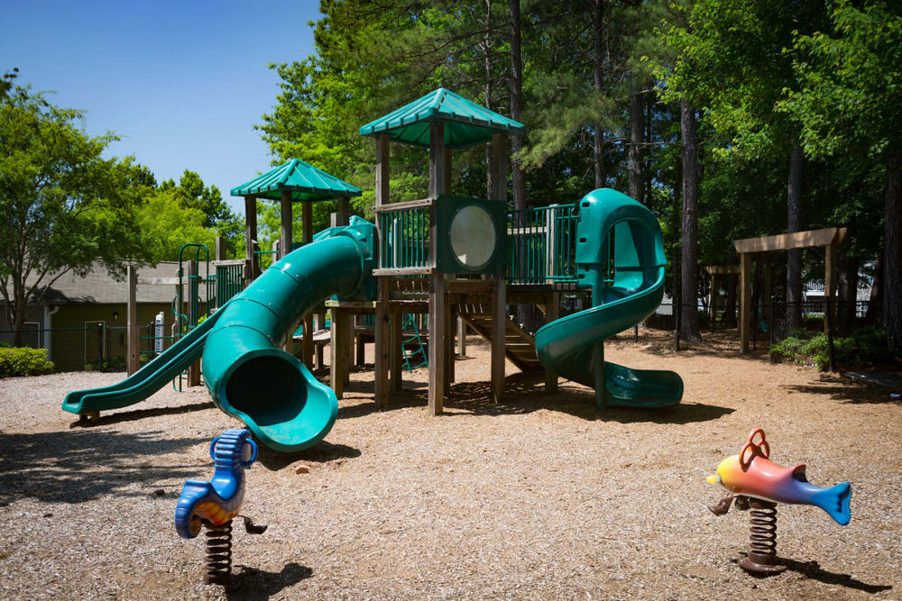 Children's playground at The Vinings at Newnan Lakes in Newnan, Georgia