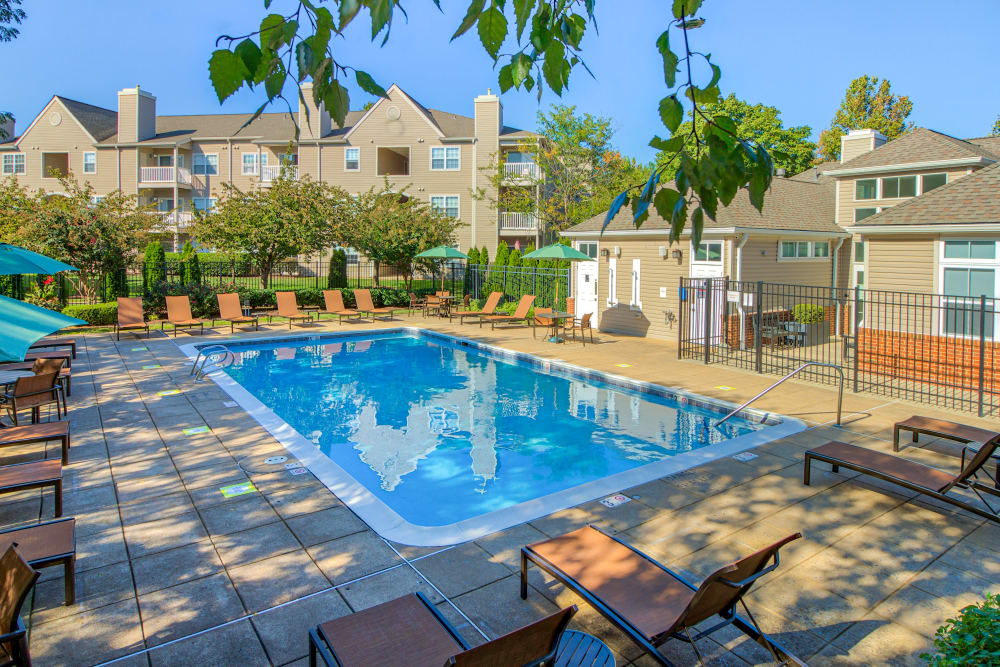 Swimming Pool at The Reserve at Ballenger Creek Apartments in Frederick , Maryland