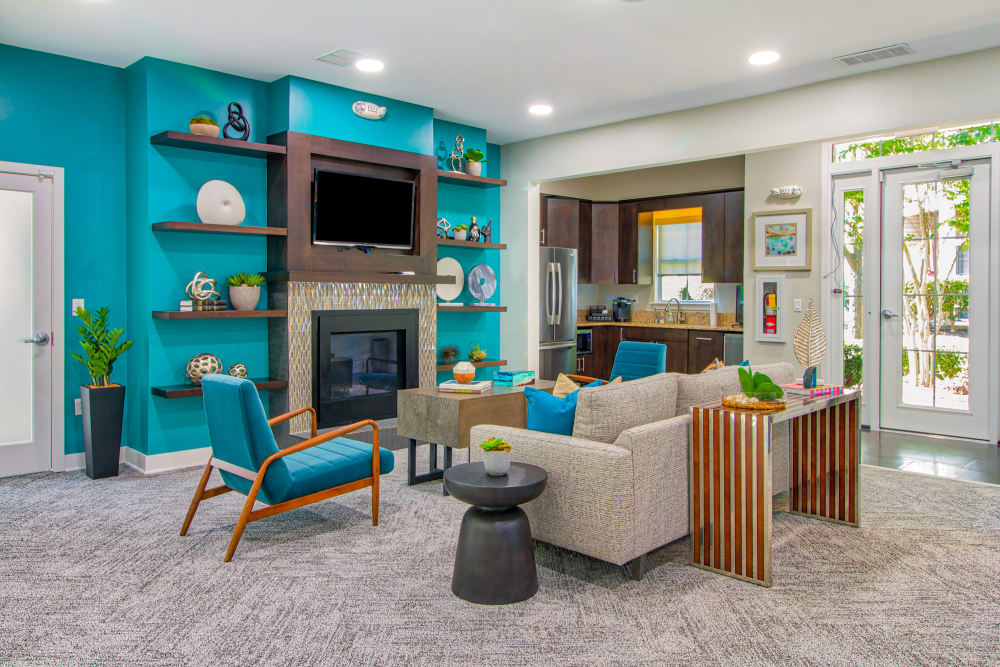 Clubhouse seating area at The Reserve at Ballenger Creek Apartments in Frederick ,Maryland
