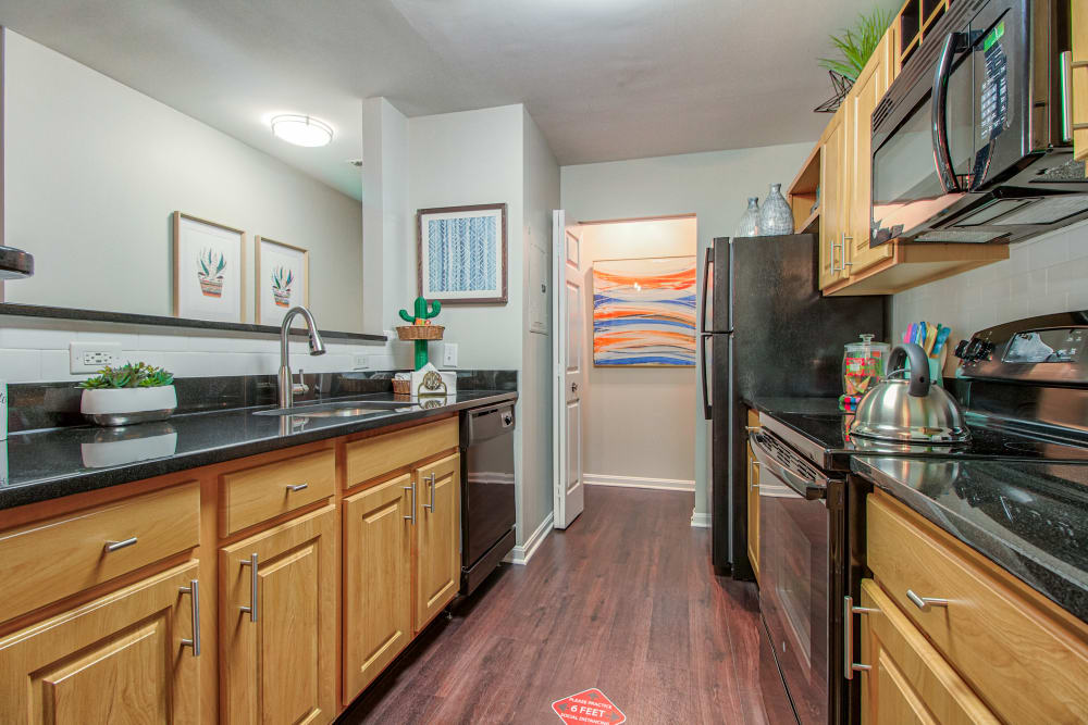 Kitchen at The Reserve at Ballenger Creek Apartments in Frederick , Maryland
