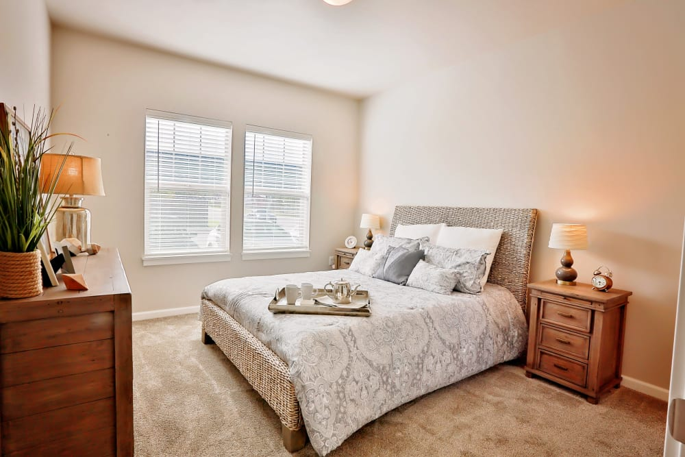 Bedroom at The Boulevard in Philomath, Oregon