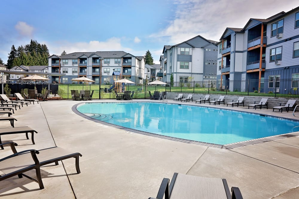 Enjoy Apartments with a Swimming Pool at The Boulevard in Philomath, Oregon