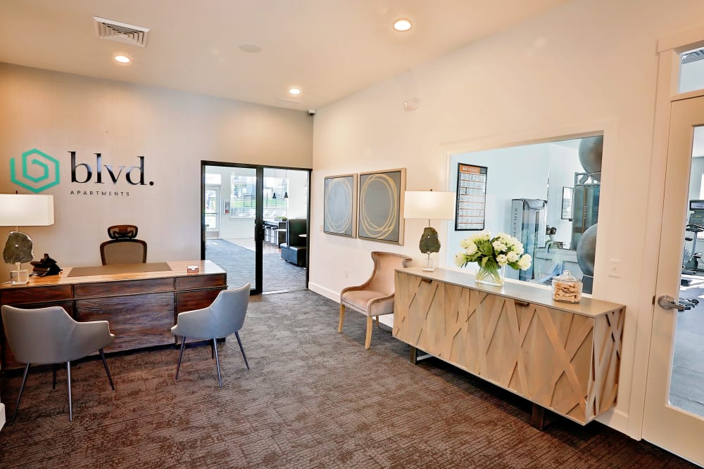 Leasing Office at The Boulevard in Philomath, OR