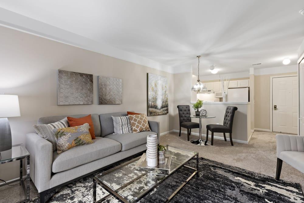 Open floor plans at Waltonwood Cherry Hill in Canton, MI