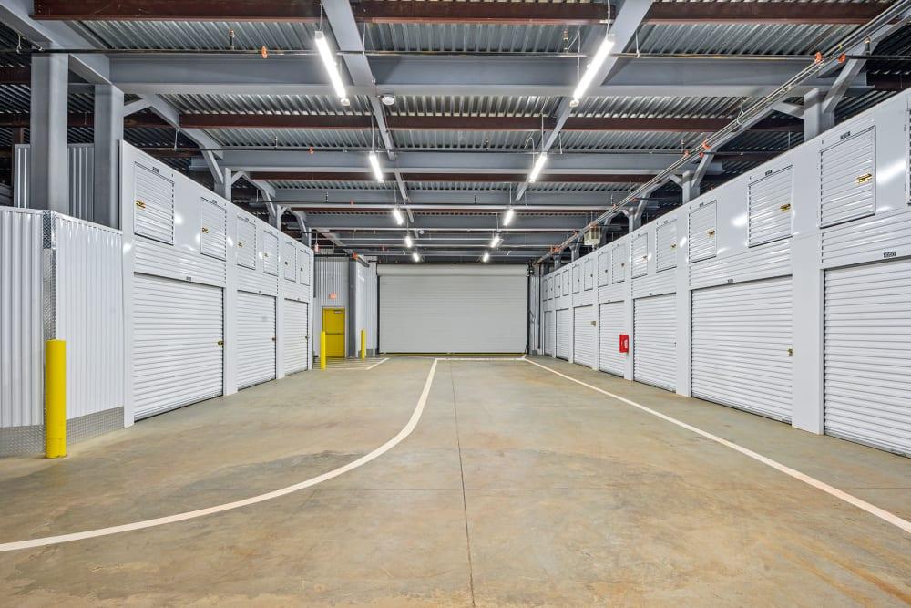 Indoor storage at Storage 365 in Euless, Texas