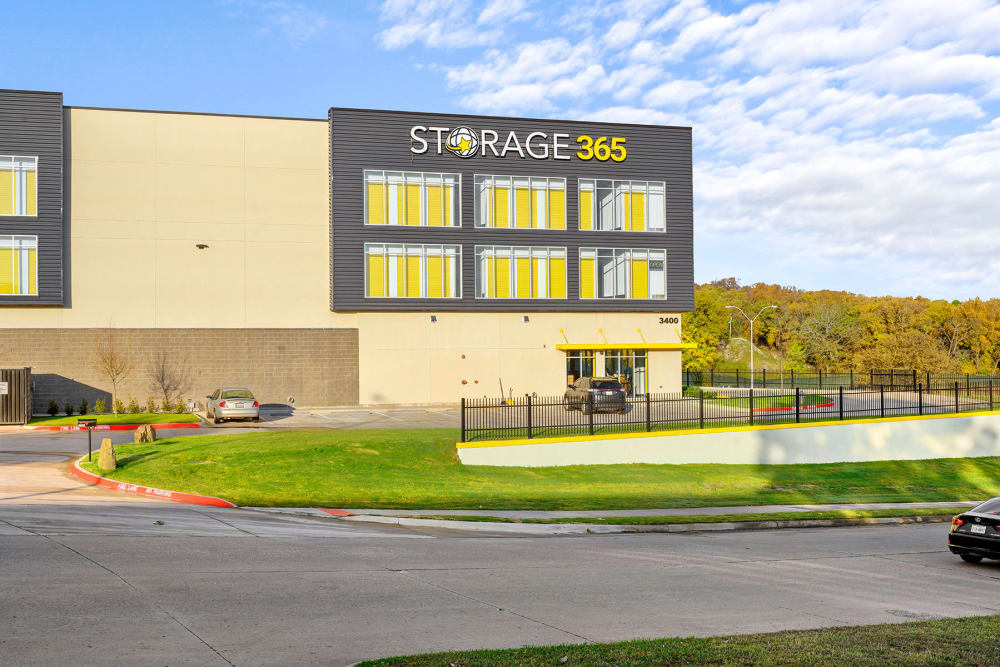 Entrance to Storage 365 in Euless, Texas