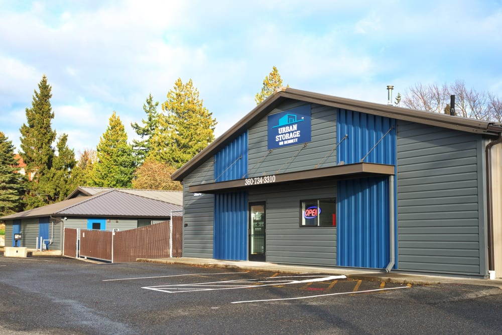Our heated storage unit facility located off of Bennett Drive in Bellingham, WA