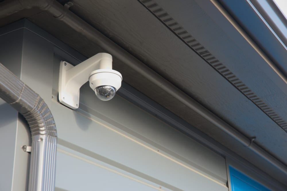 Security Cameras at our Self Storage Facility in Bellingham, WA