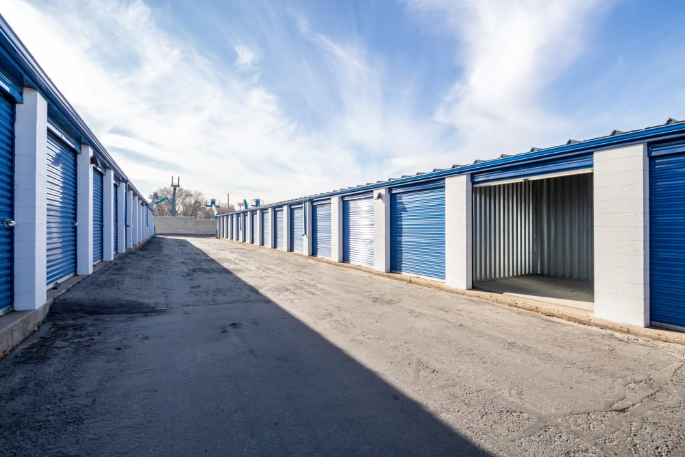 Outdoor units at Storage Etc... Sandy