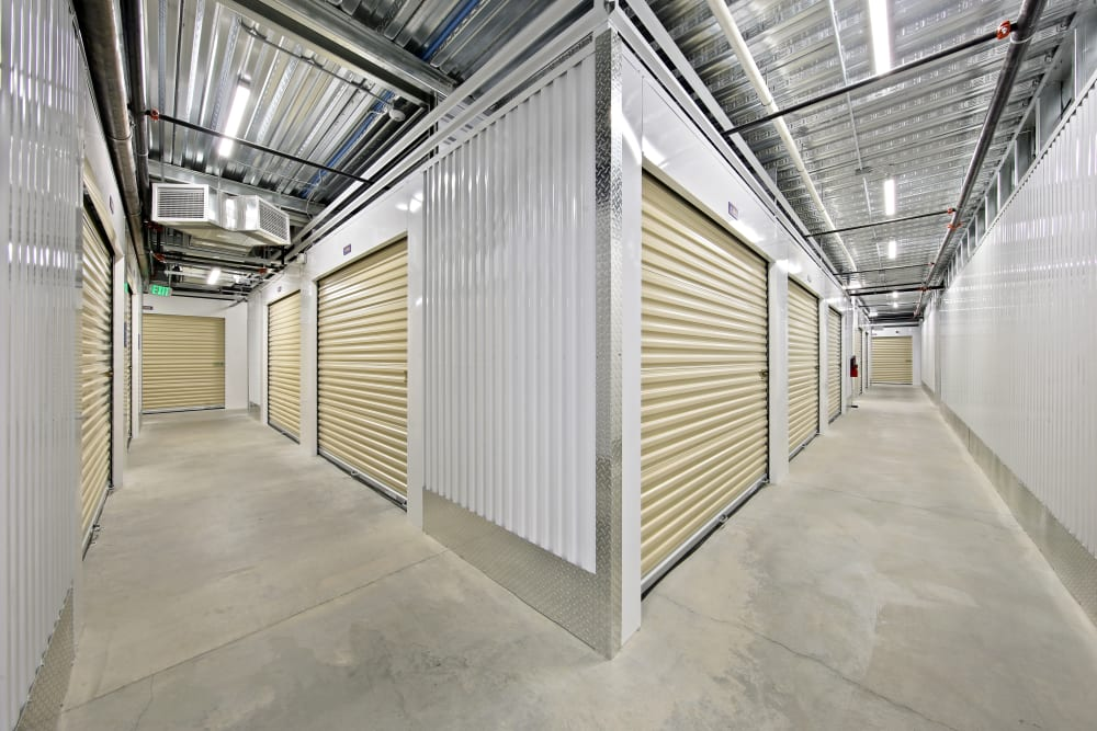 Climate controlled storage units at Storage Star Mopac in Austin, Texas