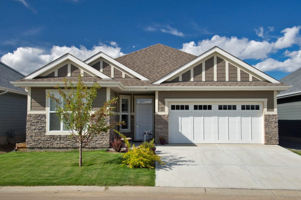 house exterior at Touchmark at Wedgewood in Edmonton, Alberta