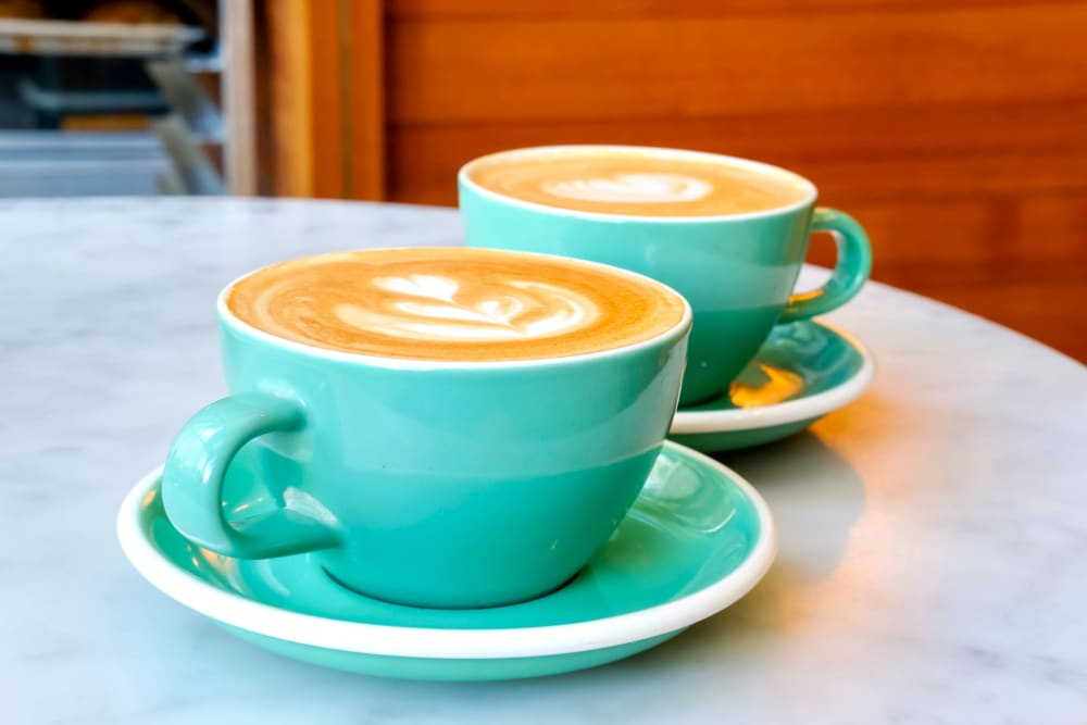 Lattes at Hilltop Commons Senior Living in Grass Valley, California