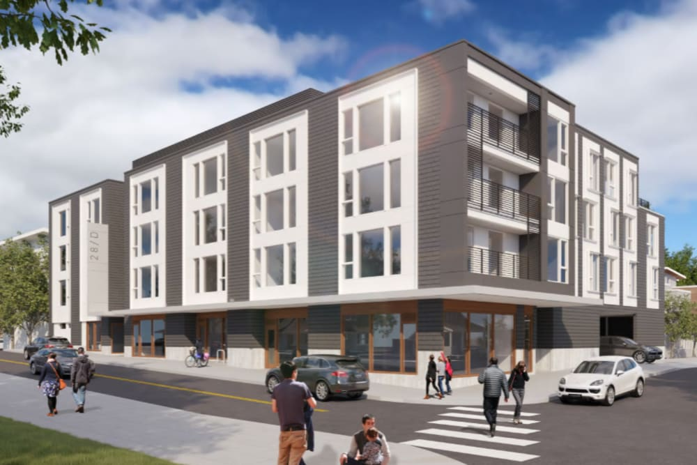 Street view rendering of Division Terrace in Portland, Oregon