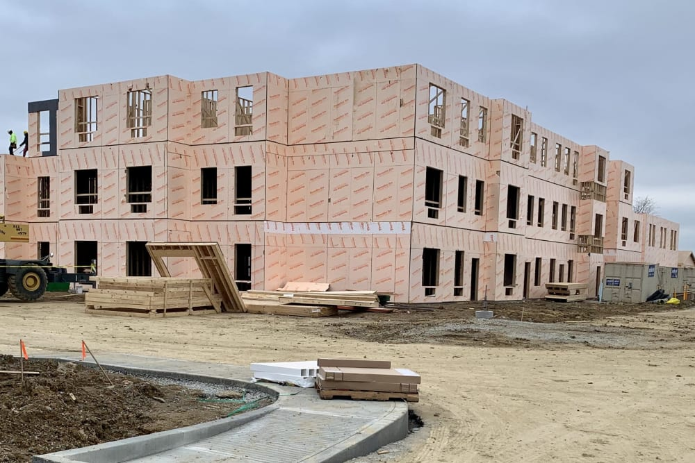 Legacy Living Florence being built in Florence, KY