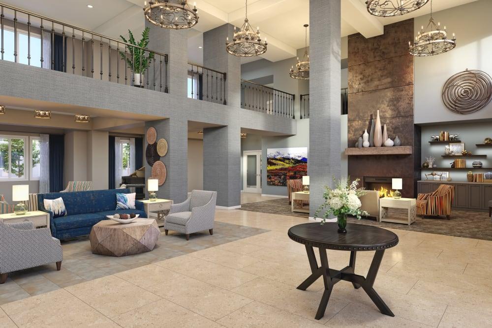 Lobby at WellQuest of Menifee Lakes's main office in Menifee, California
