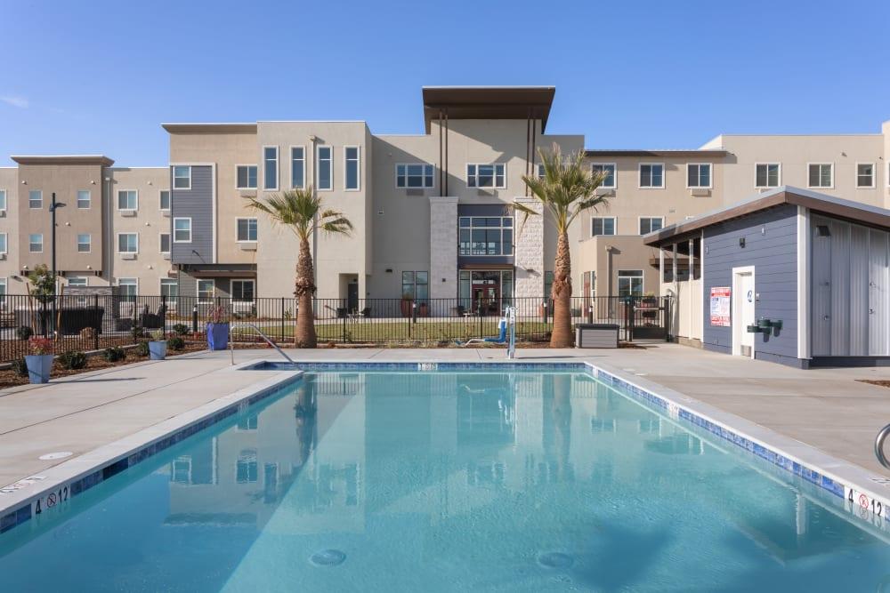 Large pool at WellQuest of Elk Grove in Elk Grove, California
