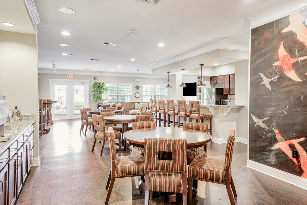 Clubhouse at Oasis at Montclair Apartments in Dumfries, Virginia