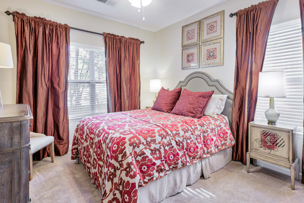 Bedroom at Oasis at Montclair Apartments in Dumfries , VA