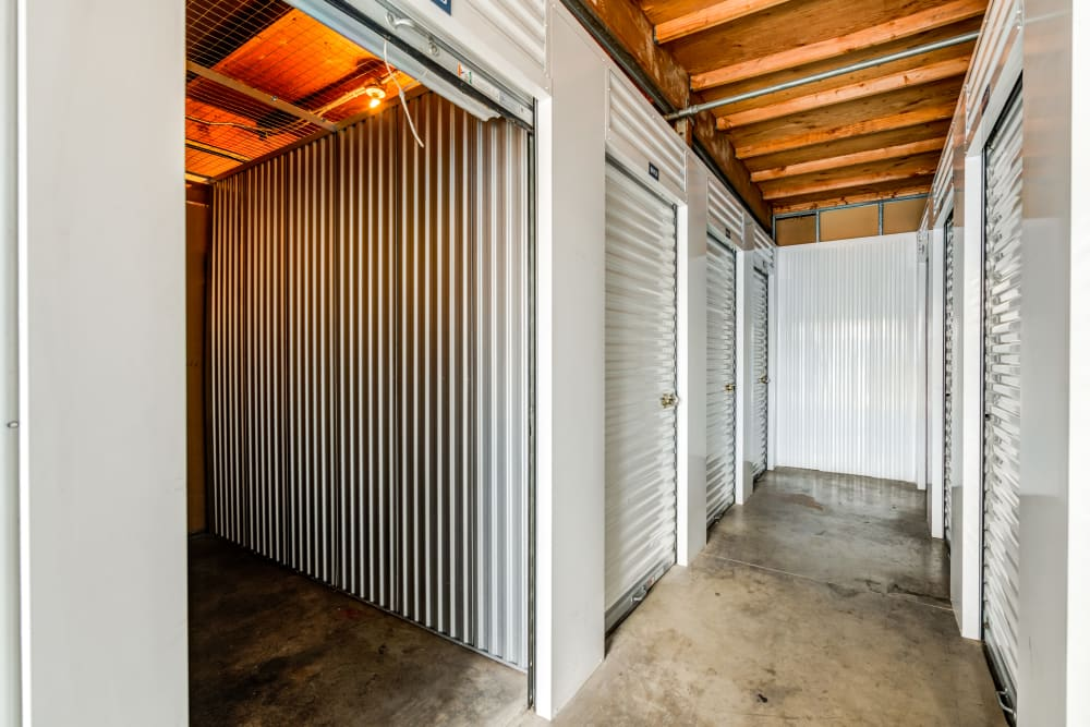 Inside Storage Units at Storage Etc... Anaheim