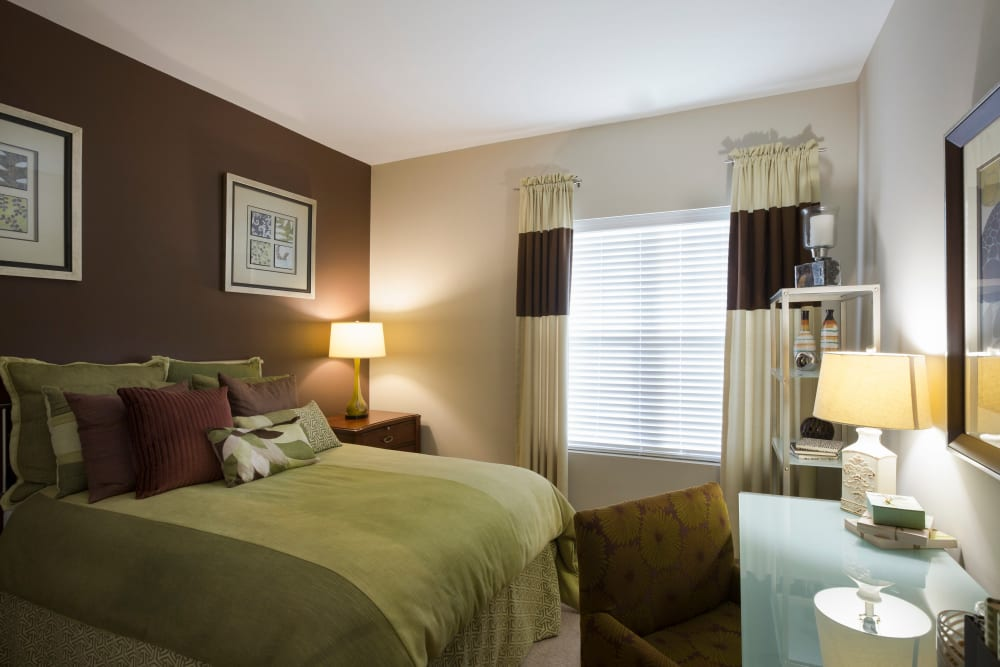 Spacious bedroom at Regency Place in Wilmington, Massachusetts