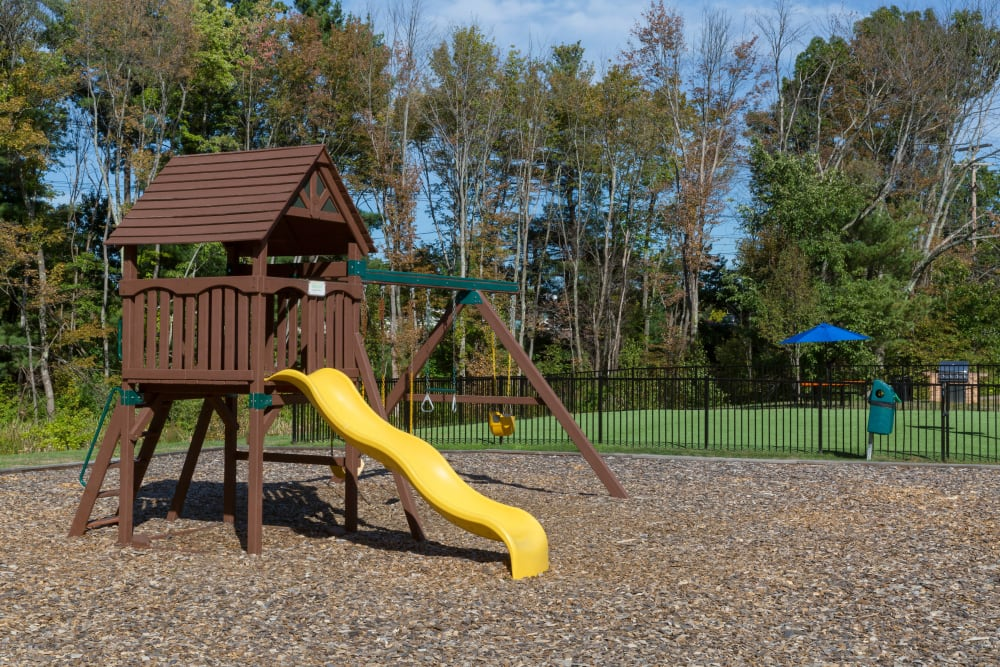 Playground for kids at Regency Place in Wilmington, Massachusetts
