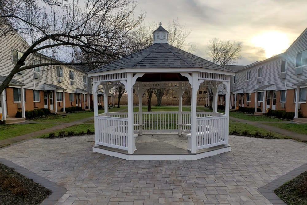 Gazebo at Encore 99 in East Haven, Connecticut
