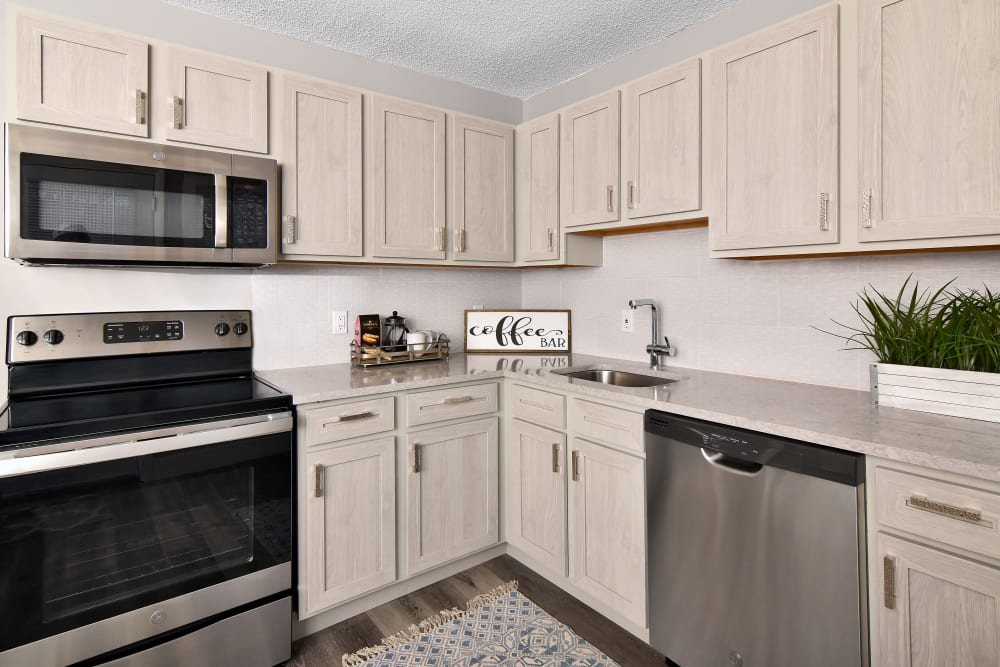 Kitchen at Encore 99 in East Haven, Connecticut
