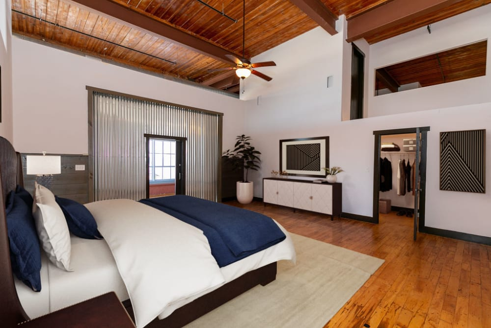 Stunning loft style apartments at The Lofts at Swift Mill in Columbus, Georgia