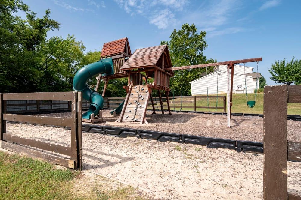 A playground for resident children at Cedar Ridge in La Vergne, Tennessee