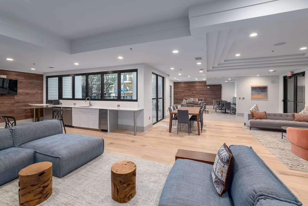 Resident Lounge | Axis 3700 Apartments Plano, TX