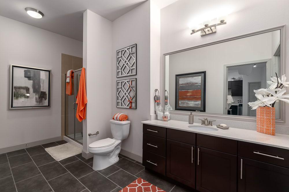 Large Bathroom | Axis 3700 Apartments Plano, TX
