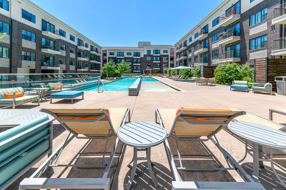 Pool Lounge | Axis 3700 Apartments Plano, TX