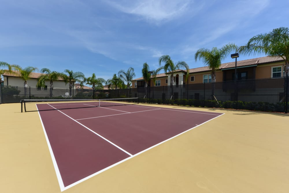 Tennis Courts at Hacienda Club in Jacksonville, FL