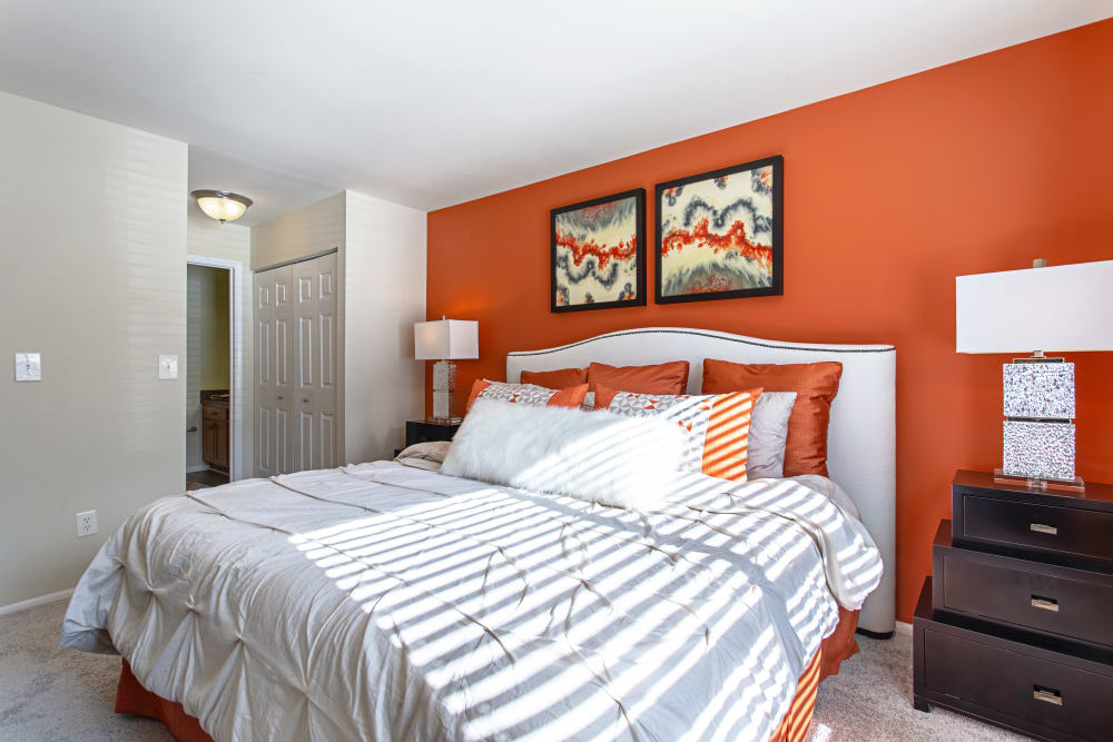 Spacious bedroom at Eagle Rock Apartments at Columbia in Columbia, Maryland