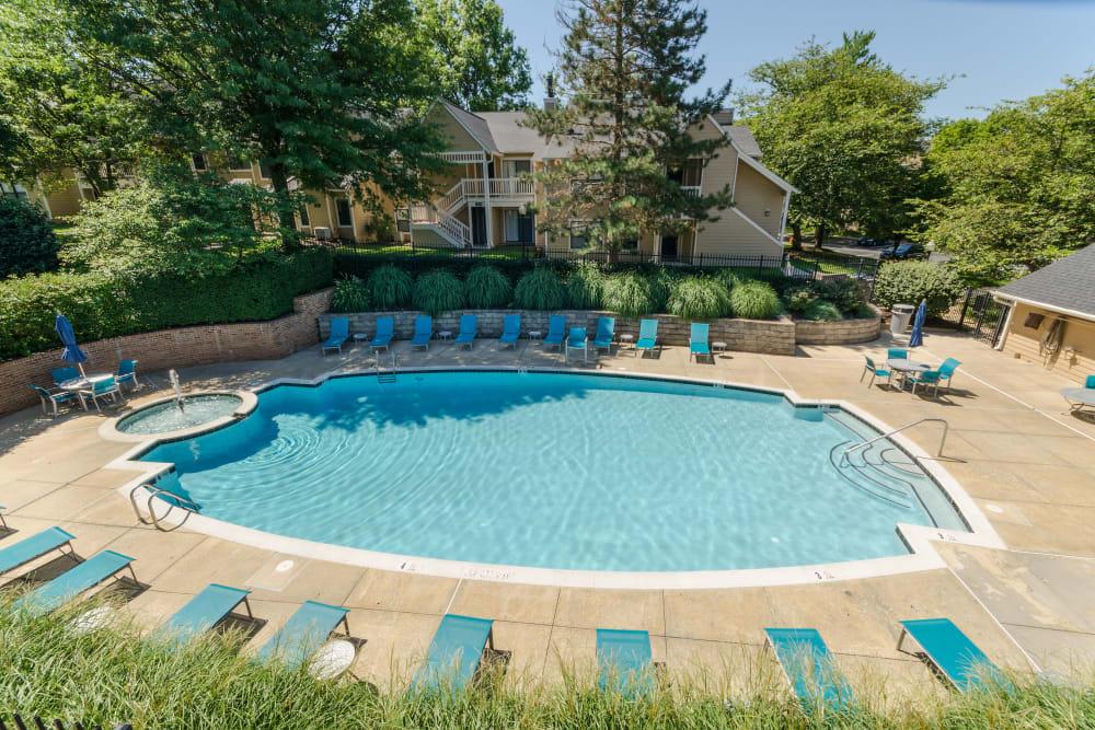 Pool at Eagle Rock Apartments at Columbia in Columbia, Maryland