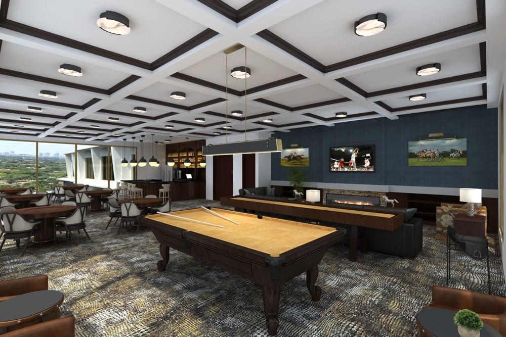 Polo lounge at The Vista in Esquimalt, British Columbia