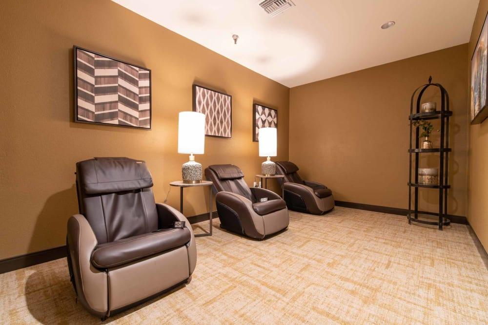 Massage room at Park Visalia in Visalia, California.