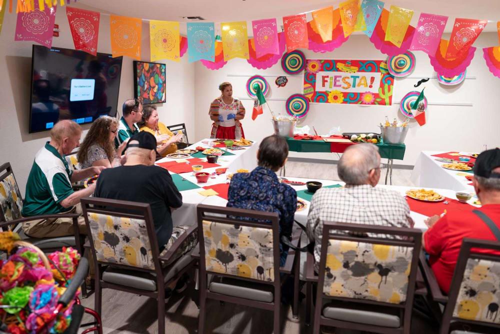 Fiesta celebration at Park Visalia in Visalia, California