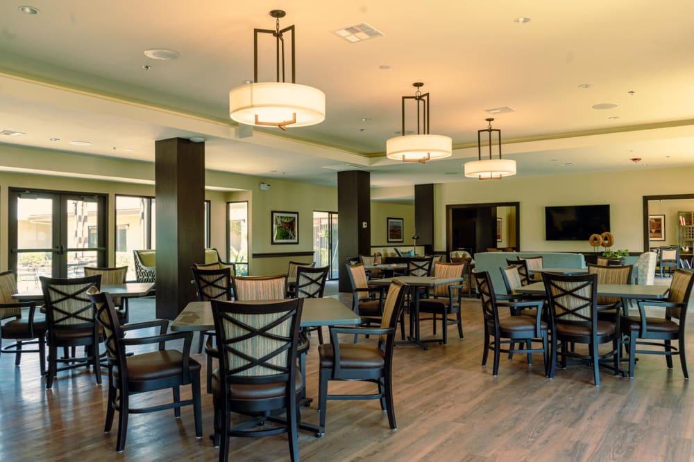 Dining room at Park Visalia in Visalia, California.